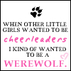 Cynical Kitty: Cheerleading Werewolves