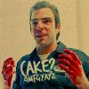 Caz: sylar CAKE? omfgyayz