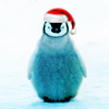 rogue equestrian: Christmas: penguin claus
