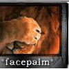 Robyn Goodfellow: facepalm