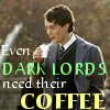 HP - Dark Lords Need Coffee
