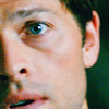 [SPN] Castiel: pretty blue eyes