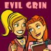 evil grin