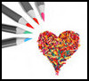 Color a heart