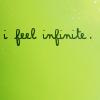 I feel infinite
