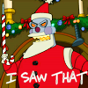futurama santa I saw that