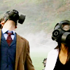 Doctor Who - Ten & Martha Gas Masks