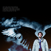 just another fruit loop in this bowl called life: SPN-Castiel faded blue wings