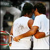 roger/rafa from behind