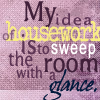Carrie Leigh: my idea of housework