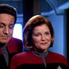 Chakotay and Janeway-proud
