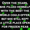 Best of the world & frozen peas