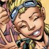 comic: bright happy grin