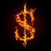 успех, огонь, доллар