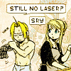ed- still no lazer