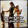 ffvii: zack/aerith || glory of love