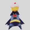 Liz, Literary Experiment: [dcu] chibi bats has a cupcake (muahaha)