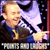 points and laughs