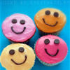 Happy faces - cupcakes