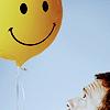 Bea: house - smiley balloon