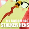 Storm Hawks: Stalker chickens