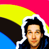[paul rudd] rainbow