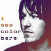 Elliott sees color bars