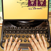 steampunky typewriter thing