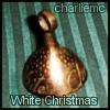 white christmas bell