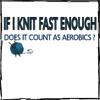 knitting fast