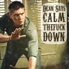 nosce te ipsum: Calm The Fuck Down: Jensen Ackles