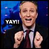 Intelligentrix: Jon Stewart-Yay!