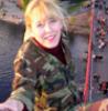 На арке моста на Труханов