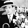 Buster Keaton - flowers