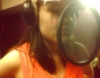 В studio