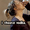 Bridget Jones I Choose Vodka