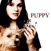 Anna Paquin ;; puppy ;;