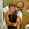 always stealing my heroin, That crazy Jesus