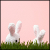 contents under pressure / handle with care: holidays - easter bunny pair of ears