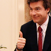 Arrested Development;  Michael thumbs up