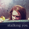 Andreah: saul is stalking you.