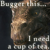 Merlin - Dragon cup of tea