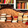 books : my house.