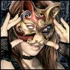 Victoria Frances - cat mask