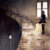 Yuuki - up those spiraled stairs