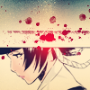 Soi Fon!Sad Blood Splatter