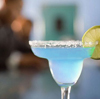 Drink:  blue margarita