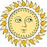 it's the sun