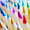 frostian: colored pencils