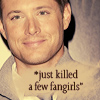 jensen killed fangirls